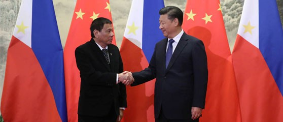 Chinese President Xi Jinping has vowed to support Philippines President Rodrigo Duterte's drug policy