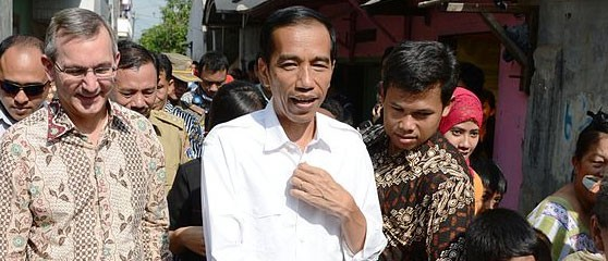 "President Joko Widodo advocates the death penalty to ""send a strong message to drug smugglers"""