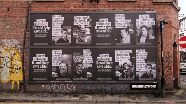 Carry Naloxone posters in Manchester