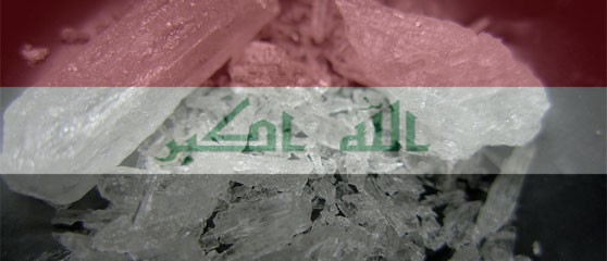 Meth production and problematic use are rising in Iraq