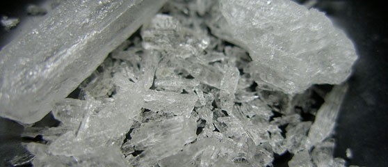 "Crystal methylamphetamine ""ice"""