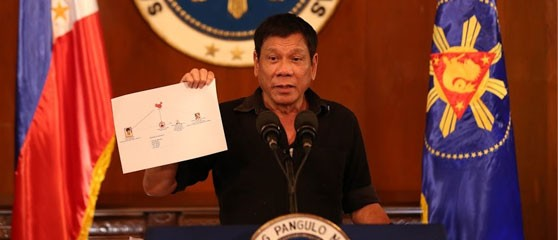 """Duterte has vowed to resume his """"War on Drugs"""""""