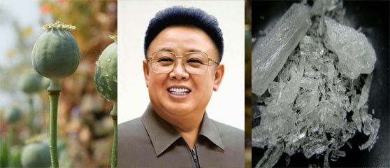Kim Jong-Il is alleged to have initiated the country's illicit drug-producing boom in 1998.
