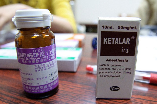 Pharmaceutical ketamine