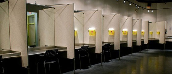 Medically supervised injection site