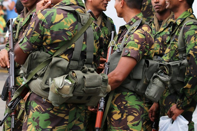 Sri Lanka plans to involve the armed forces in drug law enforcement
