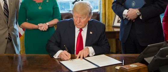 The measure has passed both houses of Congress, and is awaiting President Donald Trump's signature