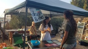 Drugs and Me sets up the First Harm Reduction Information Booth in Malta