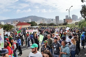 South Africa Cannabis March