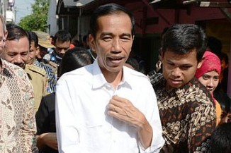 """President Joko Widodo advocates the death penalty to """"send a strong message to drug smugglers"""""""