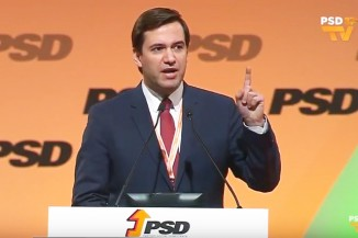 Dr Ricardo Baptista Leite, MP, speaks at the PSD conference in February 2018