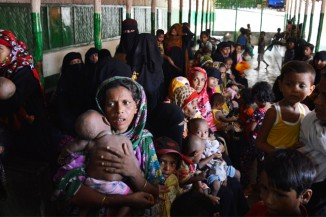 Rohingya refugees in Bangladesh