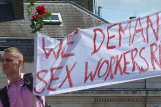 Sex workers demanding for legal rights