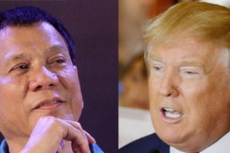 Rodrigo Duterte and Donald Trump