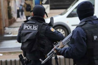 Turkish police officers were involved in a series of drug raids